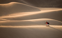 Eric Adkins at the Sand Dunes National Monument, Colorado